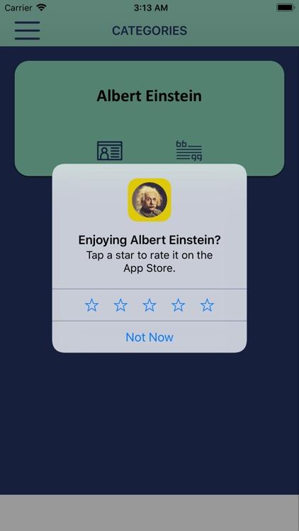 Wisdom of Albert Einstein screenshot-7