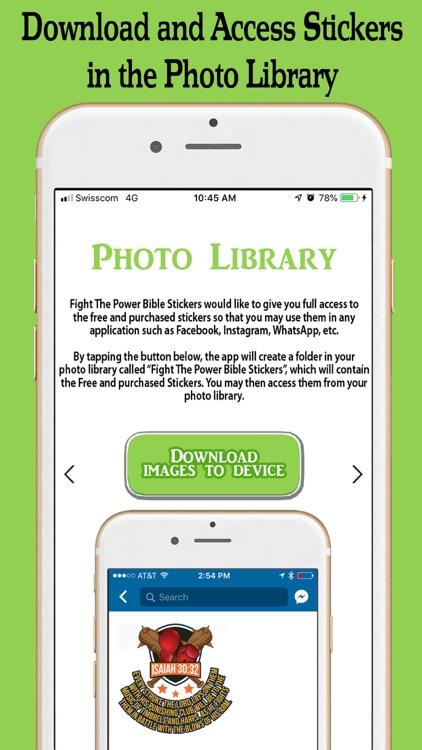 Fight the Power Bible Stickers screenshot-4