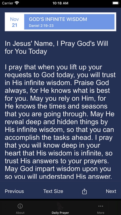 Pray God's Will - In 365 Days screenshot-6