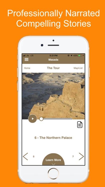 Masada Fortress Tour Guide screenshot-3