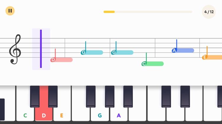 Piano Bot: piano lessons