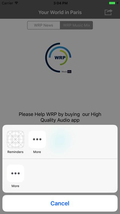 WRP screenshot four
