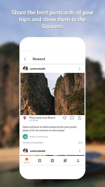 GOAZ:Travel Stories,Trips&Tips screenshot-4