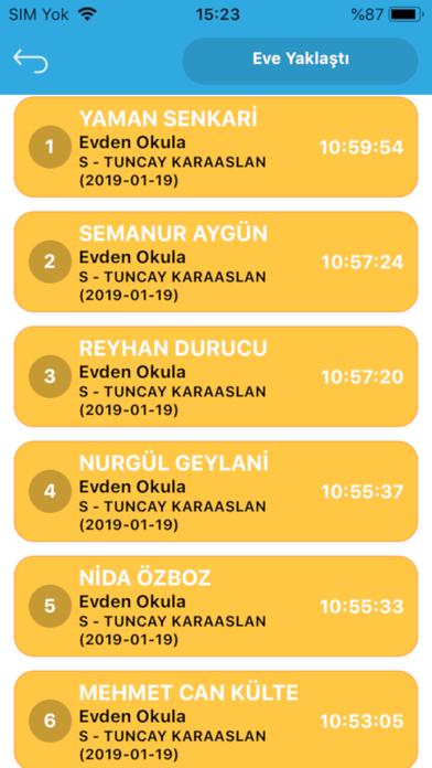 Okul Yolum - İdari screenshot three