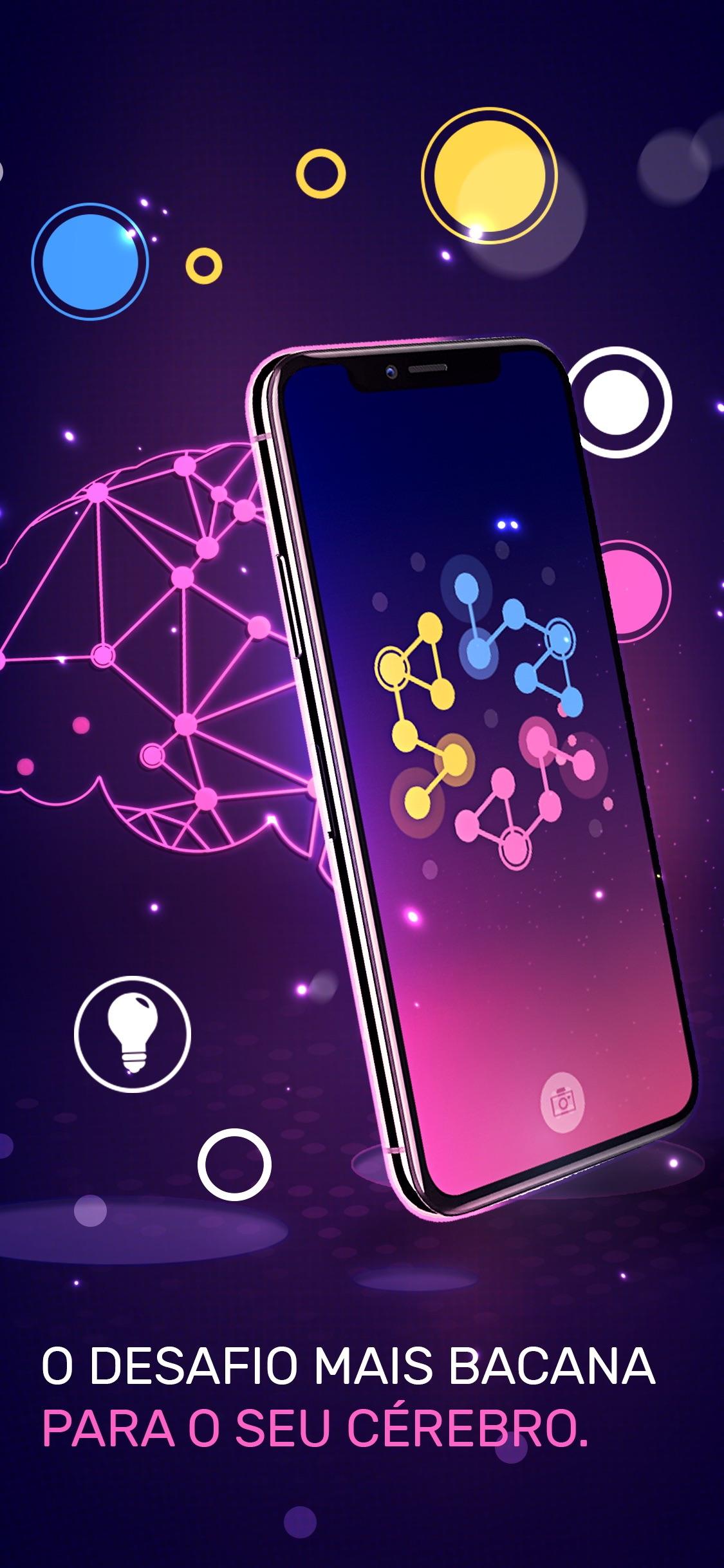 Screenshot do app Conexão: Fusão de Linhas