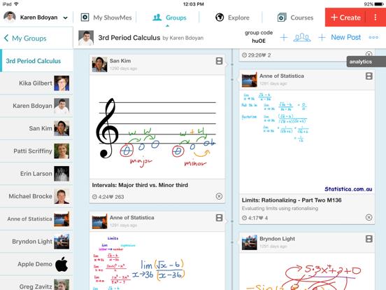 ShowMe Interactive Whiteboard Screenshot 4