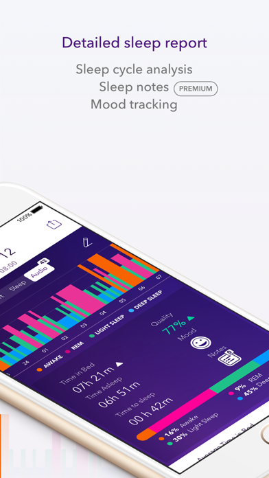 Pillow Automatic Sleep Tracker Screenshot