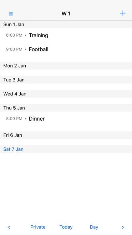 Month View Calendar screenshot-3