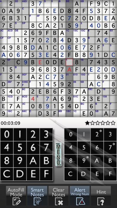 Sudoku 16x16 Monster screenshot one