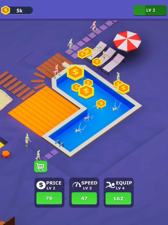 Idle Swimming Pool screenshot 8