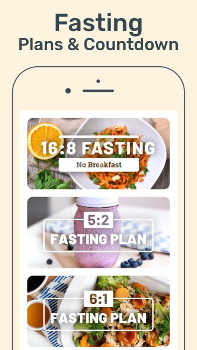 Calorie Counter & Fasting App Screenshot