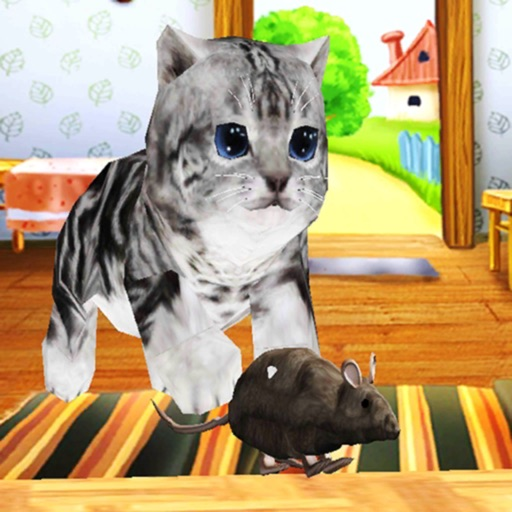 Kitten Cat VS Rat Runner Game