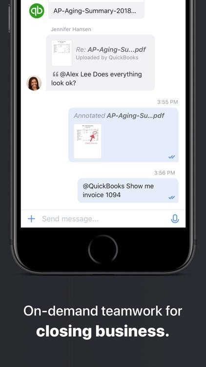 Moxtra: Business Collaboration screenshot-3