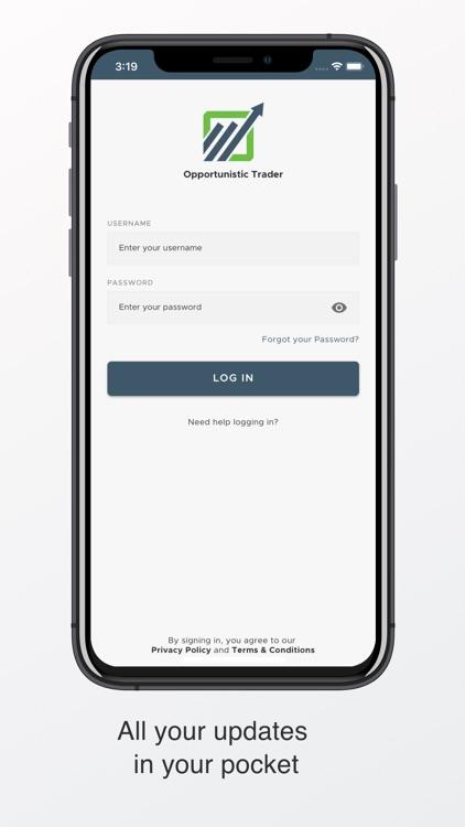 Opportunistic Trader Mobile