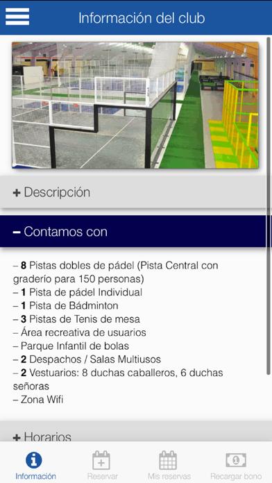 BurPadel Reservas screenshot 2