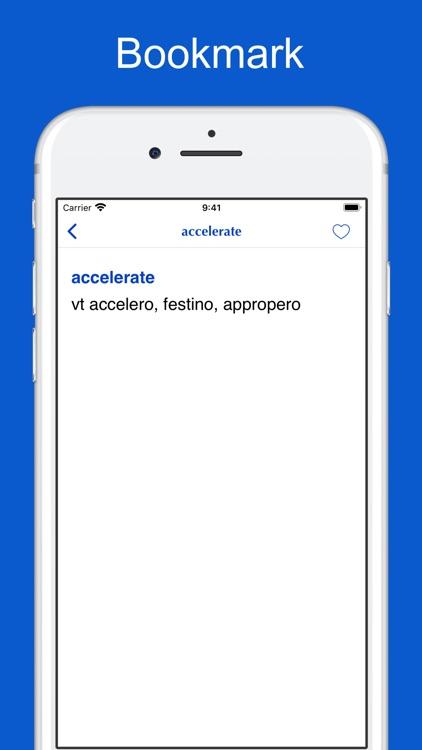 Latin-English-Latin Dictionary screenshot-3