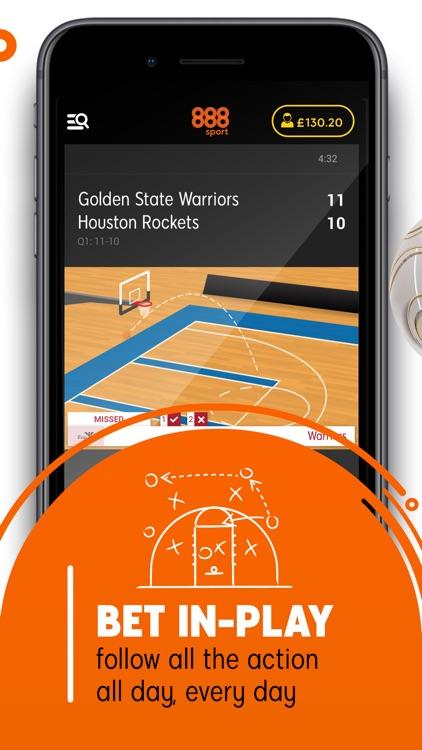 888 Sport: Live Sports Betting screenshot-7