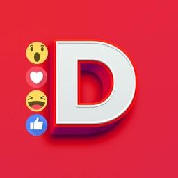 Dmoji - Sticker & Emoji Maker