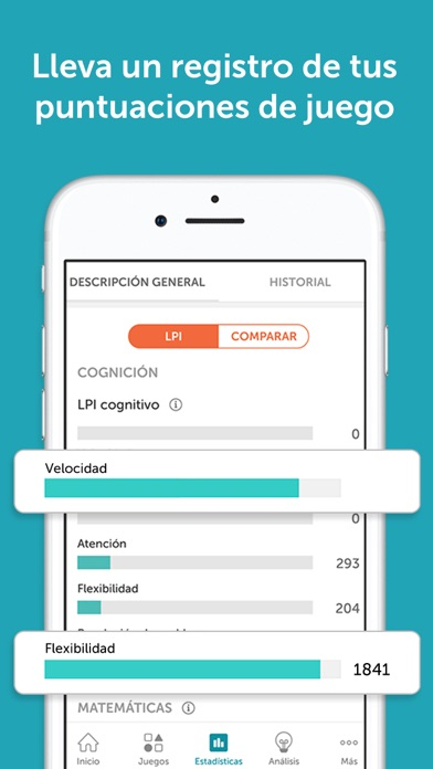 Screenshot for Lumosity - Entrenador Cerebral in Peru App Store