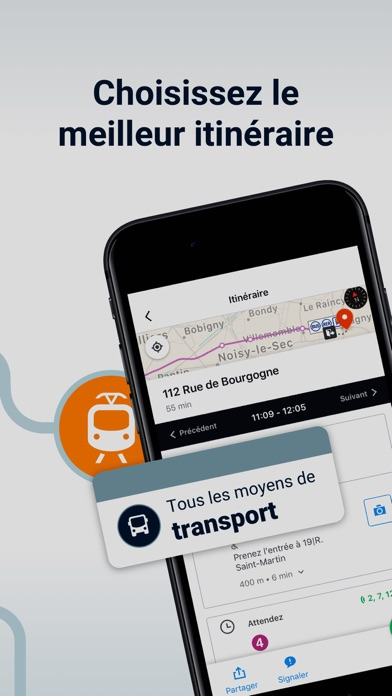messages.download Moovit: Transports en commun software