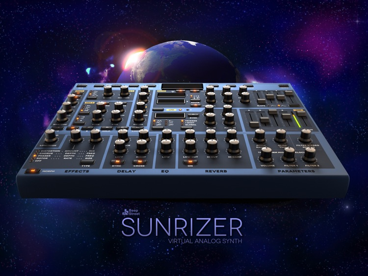 Sunrizer synth screenshot-0