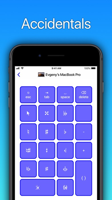Sibelius KeyPad for Macのおすすめ画像7