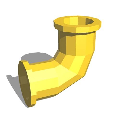 Pipeline 3D icon