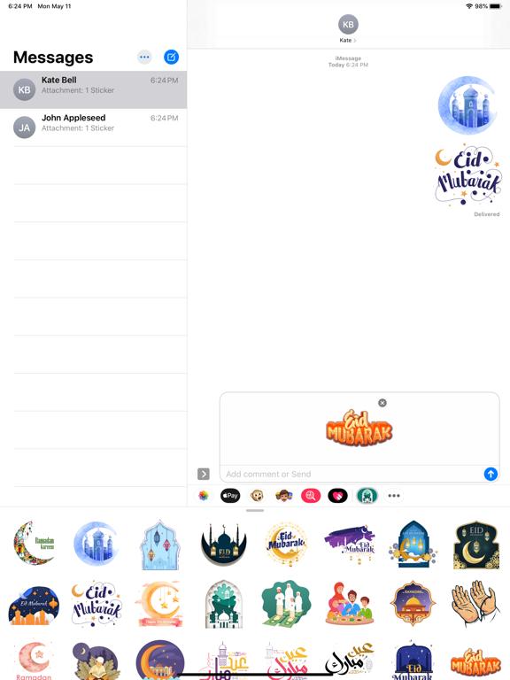 Happy Ramadan Kareem Stickers screenshot 5