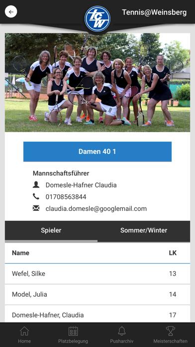 Tennis@WeinsbergScreenshot von 3
