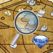Digger's Map: Trouver minéraux