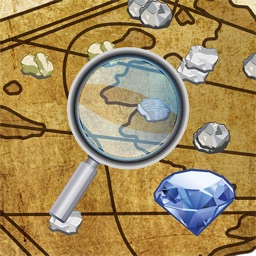 Digger's Map: Find Minerals