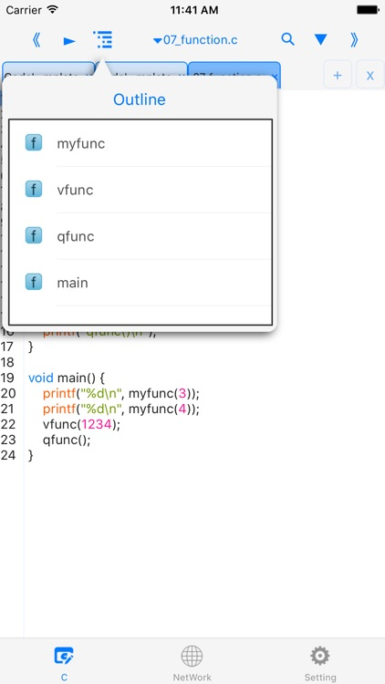 C-programming language for os