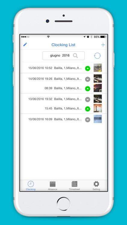 eTime Clocking & Tracking Hour screenshot-3