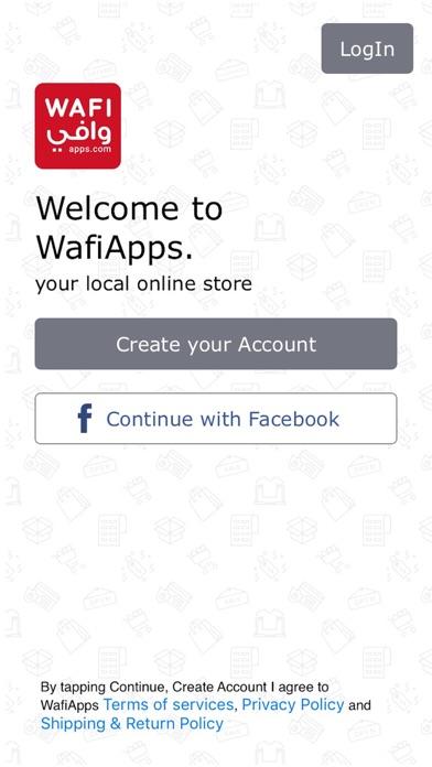 WafiApps screenshot one