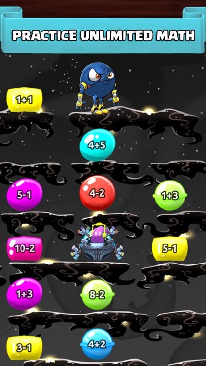 Math Duel Fun Kids Fight Games screenshot-3