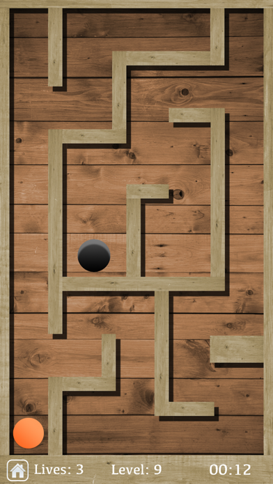 Screenshot of Classic Ball Maze App