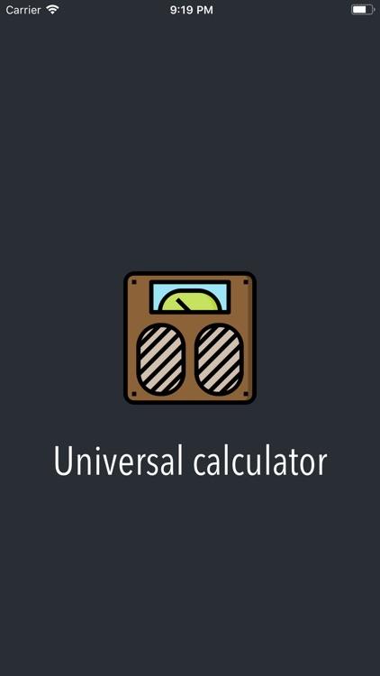 Universal Calculator App