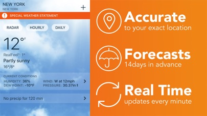 Screenshot for AccuWeather: Weather Alerts in Czech Republic App Store