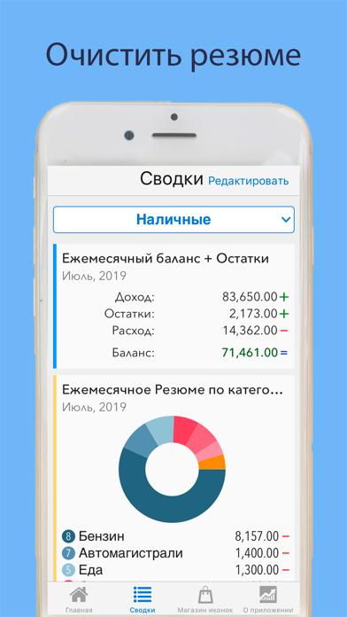 Ежедневные Расходы: финансыСкриншоты 2