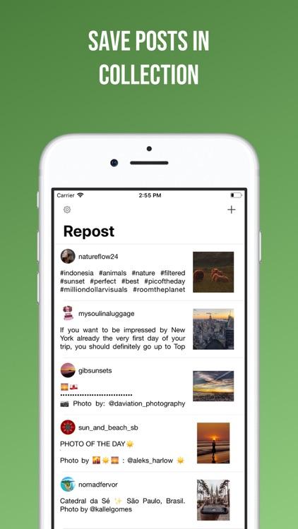 Easy Repost for Instagram