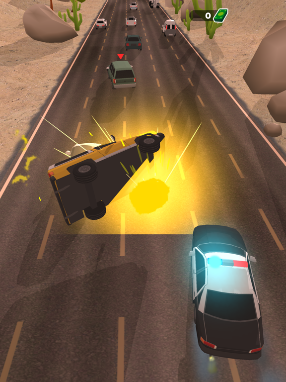 Police Chase - Hot Highways screenshot 13