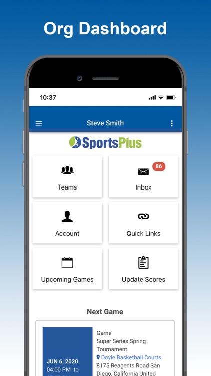 SportsPlus Integrated App