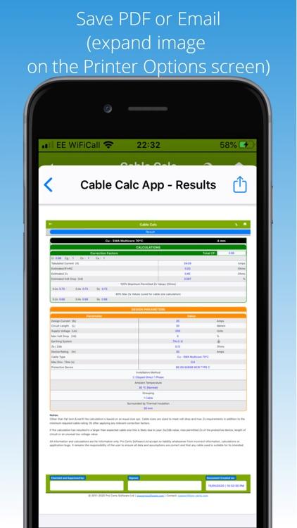 Cable Calc screenshot-8