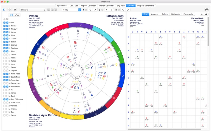 Top 10 Apps like iPhemeris Astrology Charts in 2019 for iPhone & iPad
