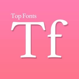 Top Fonts: Cool font, keyboard