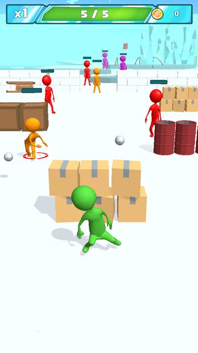 Snowballs fight screenshot 1