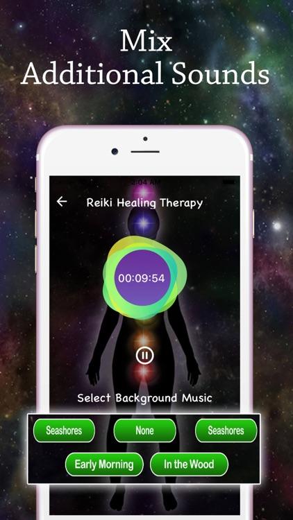 Reiki Healing Music Therapy screenshot-3