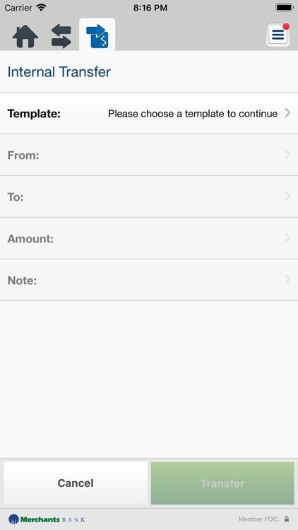 Merchants Bank Business Mobile screenshot-5