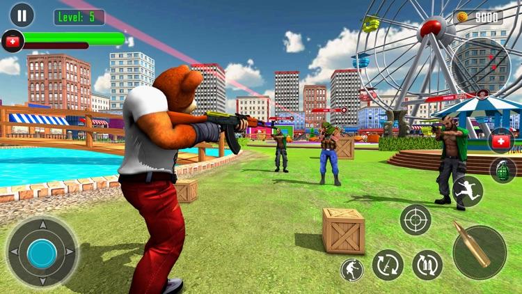 Teddy Bear Gun Shooting Game screenshot-7