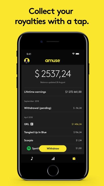Amuse Music Distribution screenshot-3